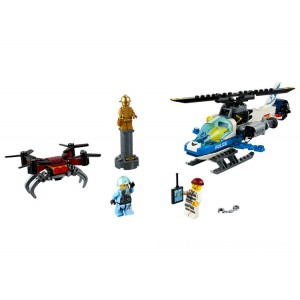 Lego City Sky Police Drone Chase - Sale