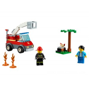 Lego City Barbecue Burn Out - Sale