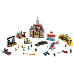 Lego City Main Square - Sale