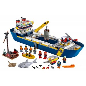Lego City Ocean Exploration Ship - Sale