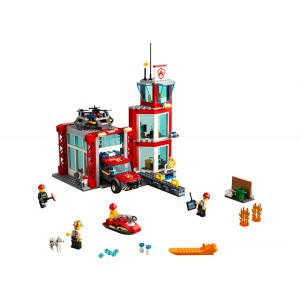 Lego City Fire Station - Sale