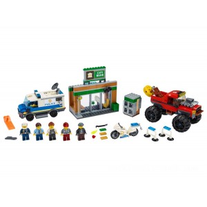 Lego City Police Monster Truck Heist - Sale