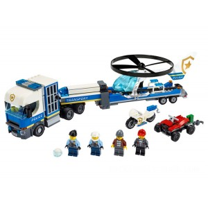 Lego City Police Helicopter Transport - Sale