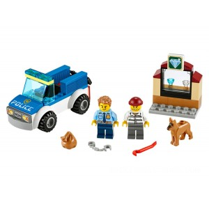 Lego City Police Dog Unit - Sale