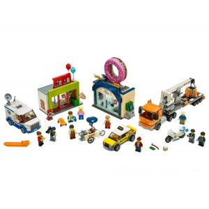 Lego City Donut Shop Opening - Sale