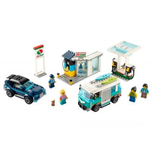 Lego City Service Station - Sale