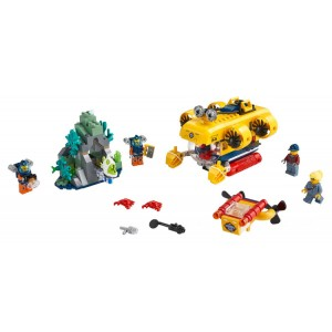 Lego City Ocean Exploration Submarine - Sale