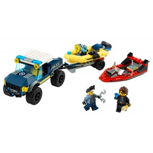 Lego City Police Boat Transport - Sale
