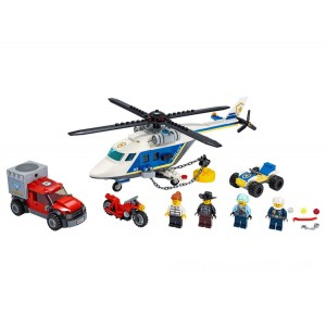 Lego City Police Helicopter Chase - Sale
