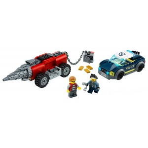 Lego City Police Driller Chase - Sale