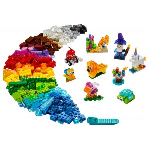 Lego Classic Creative Transparent Bricks - Sale