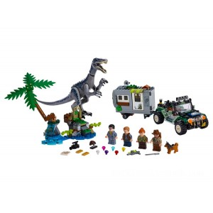 Lego Jurassic World™ Baryonyx Face-Off: The Treasure Hunt - Sale