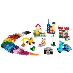 Lego Classic Large Creative Brick Box - Sale