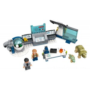 Lego Jurassic World™ Dr. Wu's Lab: Baby Dinosaurs Breakout​ - Sale