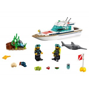 Lego City Diving Yacht - Sale