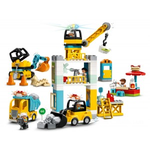Lego DUPLO® Tower Crane & Construction - Sale