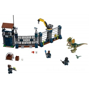 Lego Jurassic World™ Dilophosaurus Outpost Attack - Sale