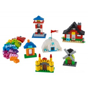 Lego Classic Bricks and Houses - Sale