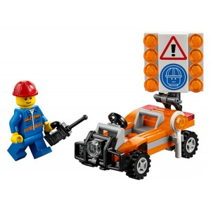 Lego City Road Worker - Sale