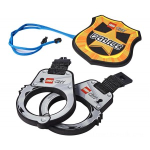 Lego City Police Handcuffs & Badge - Sale