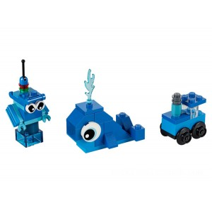 Lego Classic Creative Blue Bricks - Sale