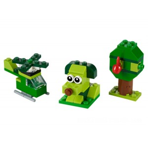 Lego Classic Creative Green Bricks - Sale