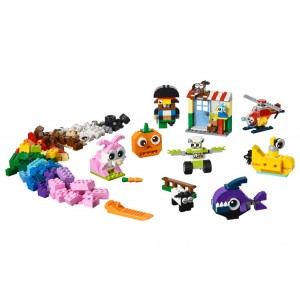 Lego Classic Bricks and Eyes - Sale