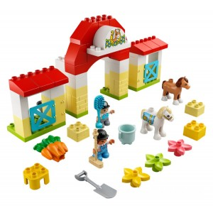 Lego DUPLO® Horse Stable and Pony Care - Sale