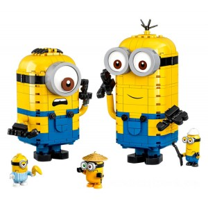 Lego Minions Brick-built Minions and their Lair - Sale
