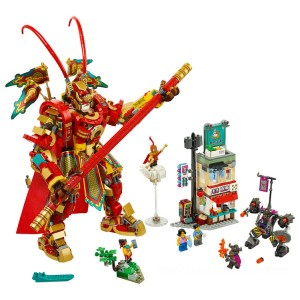 Lego Monkie Kid Monkey King Warrior Mech - Sale