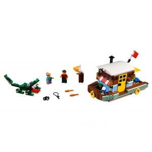 Lego Creator 3-in-1 Riverside Houseboat - Sale