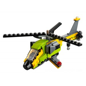 Lego Creator 3-in-1 Helicopter Adventure - Sale