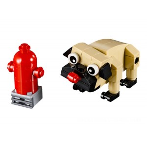 Lego Creator 3-in-1 Cute Pug - Sale