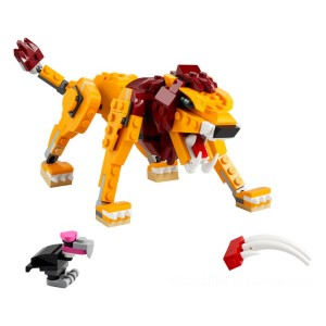 Lego Creator 3-in-1 Wild Lion - Sale