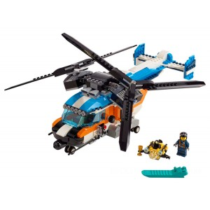 Lego Creator 3-in-1 Twin-Rotor Helicopter - Sale