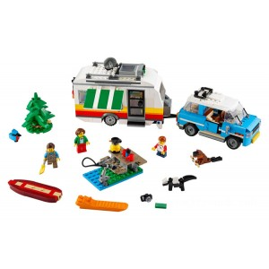 Lego Creator 3-in-1 Caravan Family Holiday - Sale