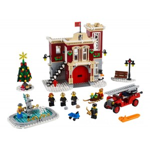 Lego Creator Expert Winter Village Fire Station - Sale