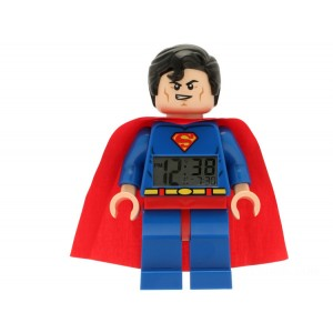 Lego DC DC Comics™ Super Heroes Superman™ Minifigure Clock - Sale
