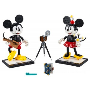 Lego Disney™ Mickey Mouse & Minnie Mouse Buildable Characters - Sale