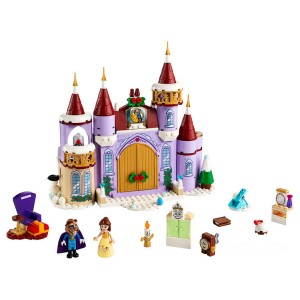 Lego Disney™ Belle's Castle Winter Celebration - Sale