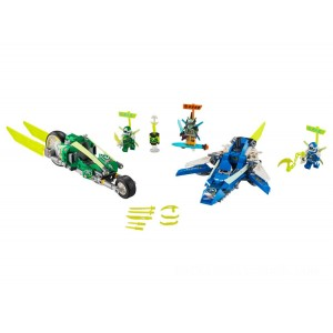 Lego NINJAGO® Jay and Lloyd's Velocity Racers - Sale