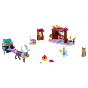 Lego Disney™ Elsa's Wagon Adventure - Sale