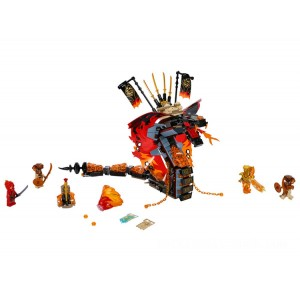 Lego NINJAGO® Fire Fang - Sale
