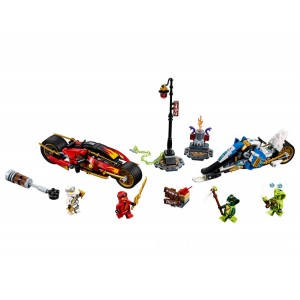 Lego NINJAGO® Kai's Blade Cycle & Zane's Snowmobile - Sale