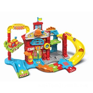 VTech Toot-Toot Drivers Fire Station - Sale
