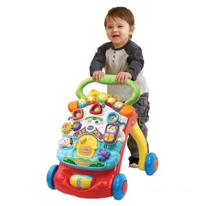 VTech First Steps Red Baby Walker - Sale