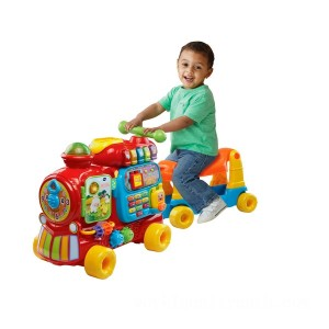 VTech Push and Ride Alphabet Train Red - Sale