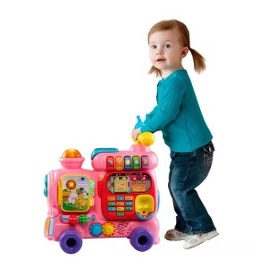 VTech Push and Ride Alphabet Train Pink - Sale