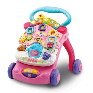 VTech First Steps Baby Walker Pink - Sale