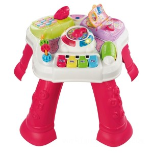 VTech Learning Activity Table Pink - Sale